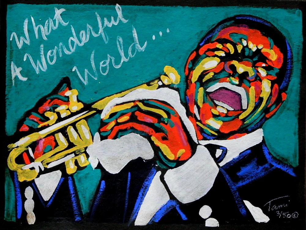 Louis Armstrong What A Wonderful World Lyrics Genius