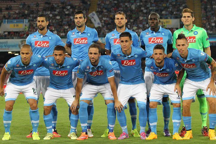 S S C Napoli: SSC Napoli – S.S.C. Napoli Squad 2014/15