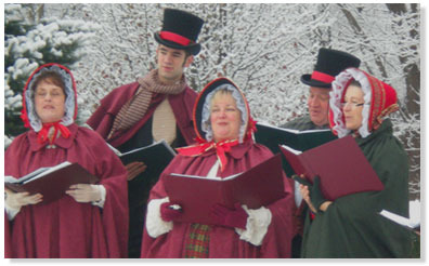 Yuletide carols being sung by a choir – The Christmas Song