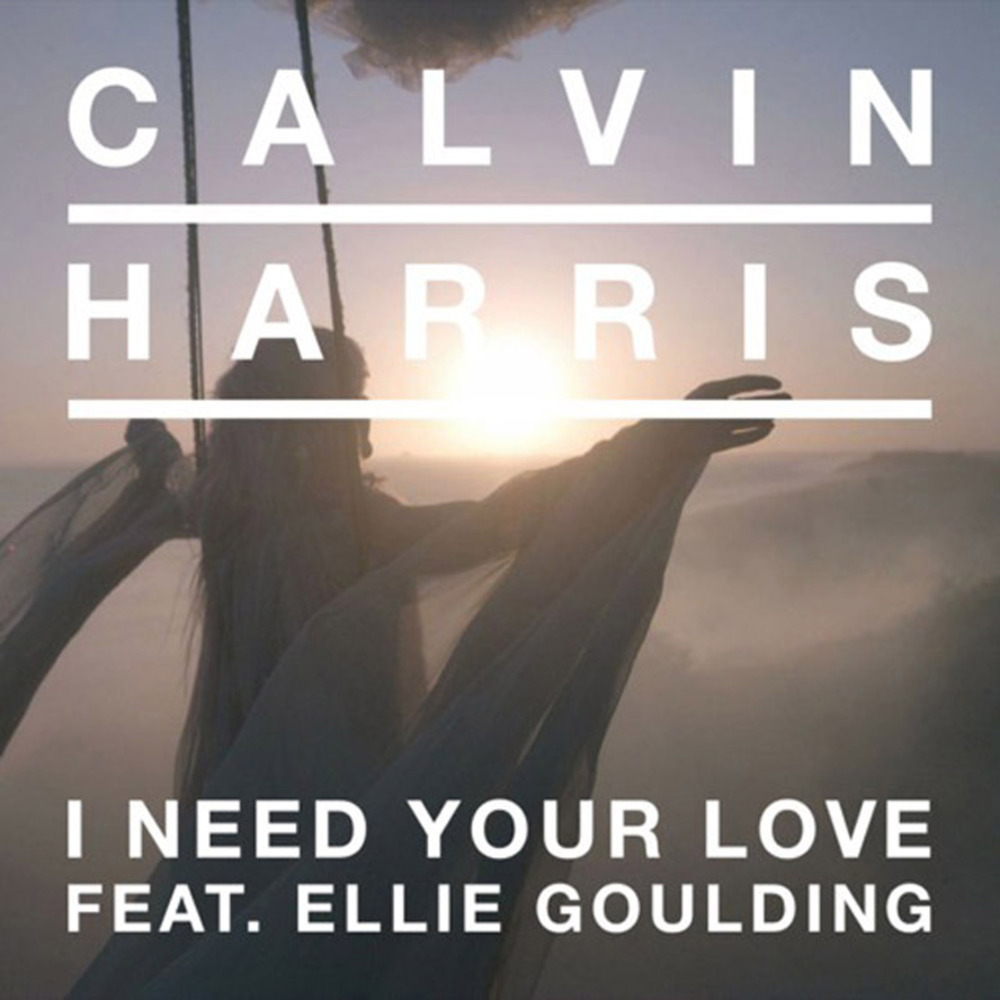this ensured Harris was Calvin Harris I Need Your Love Album Cover