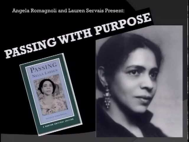 nella larsen passing part encounter annotated