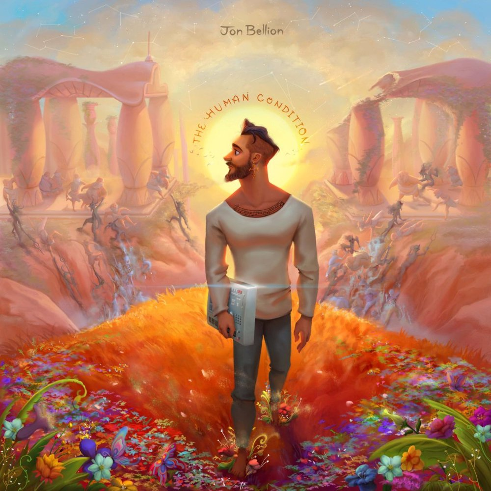 Image result for Jon Bellion the human condition album cover