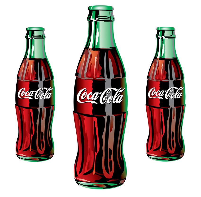 Sexy Women Latina Coke Bottle 100