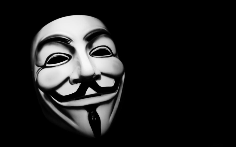 Как сделать маску анонимус 283