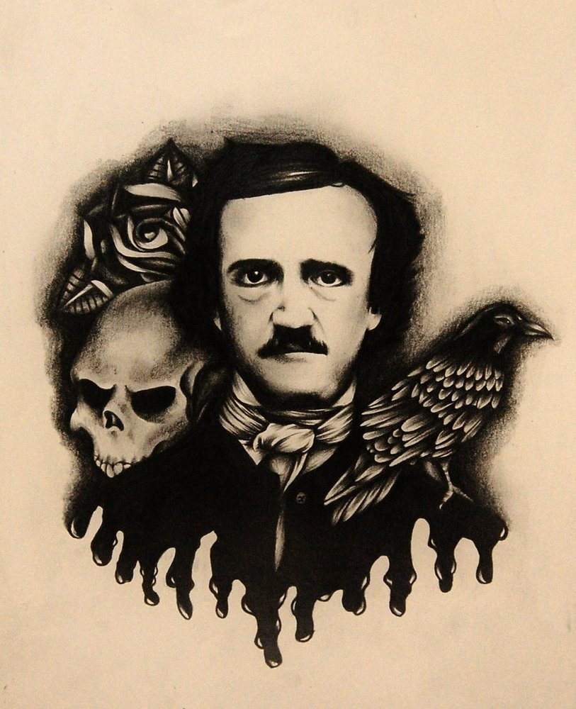 a biography of edgar allan poe a complicated author of the horror genre