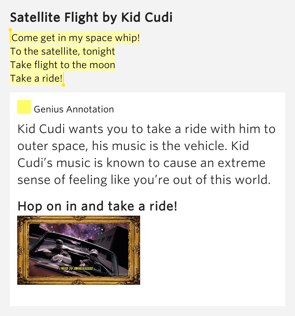 My World Lyrics Kid Cudi Rap Genius
