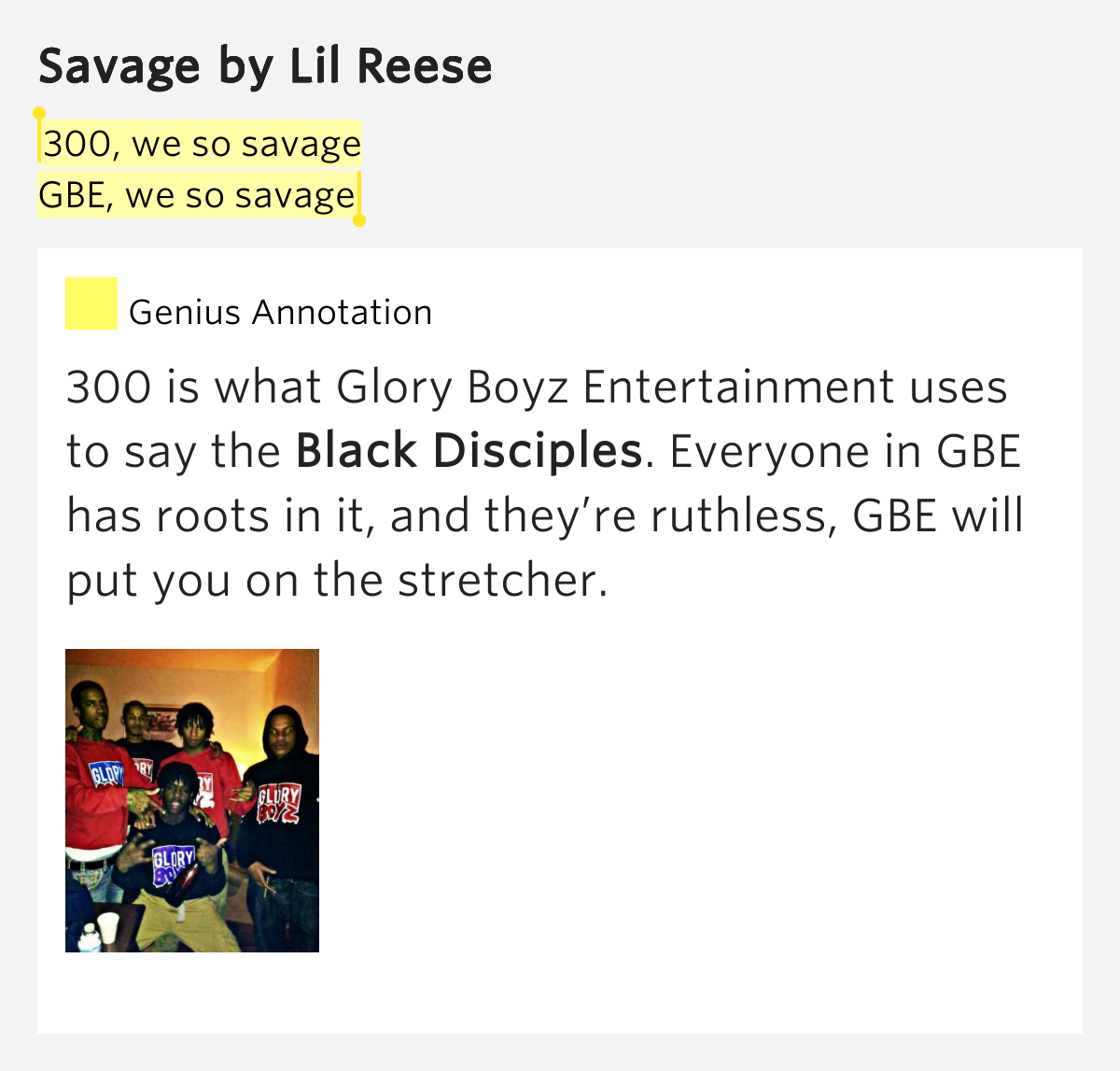 Kanye West Savage Quotes: 300, We So Savage / GBE, We So Savage
