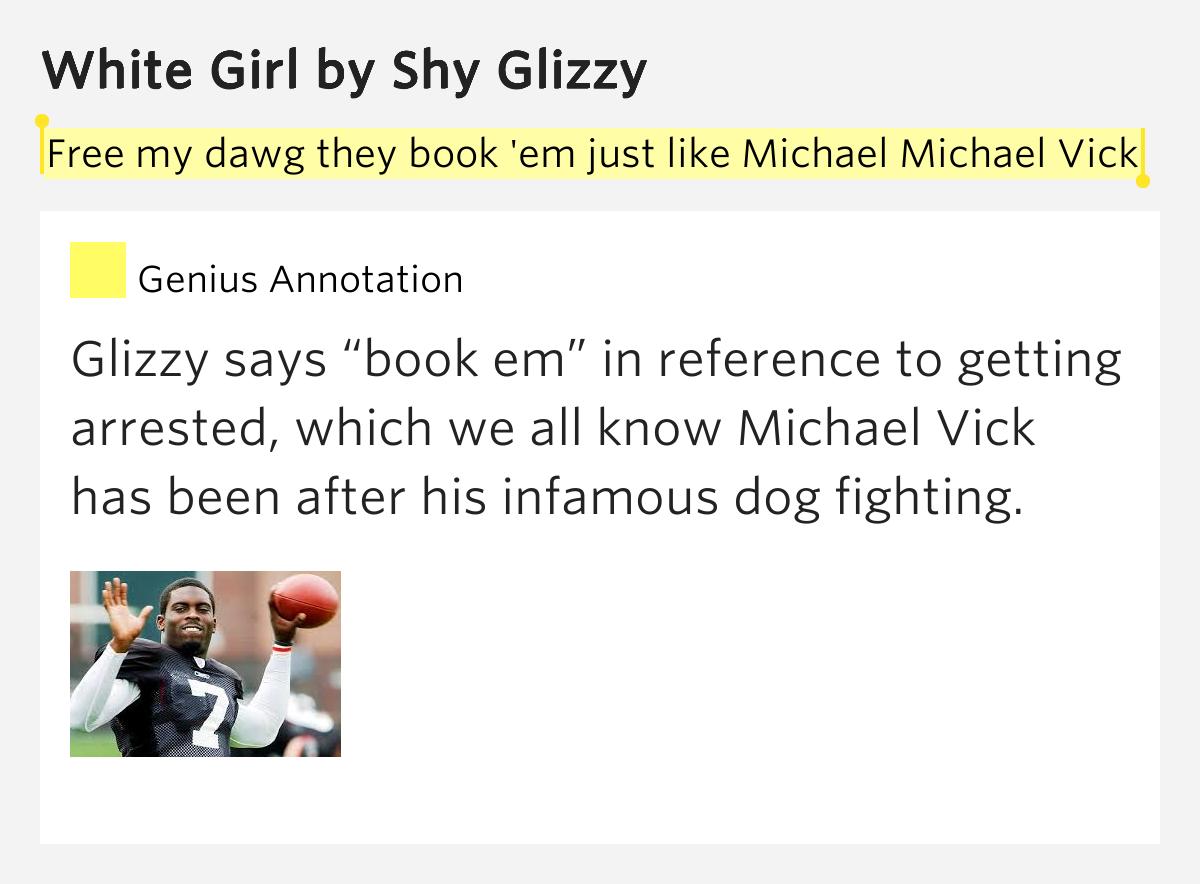 glizzy white girl lyrics