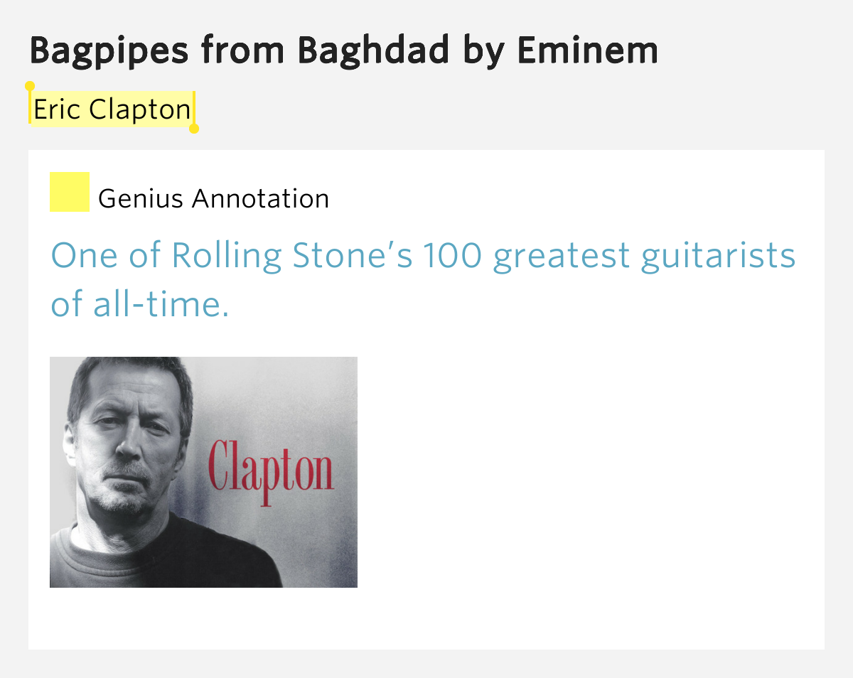 Eminem - Bagpipes from Baghdad Lyrics Relapse HQ - YouTube