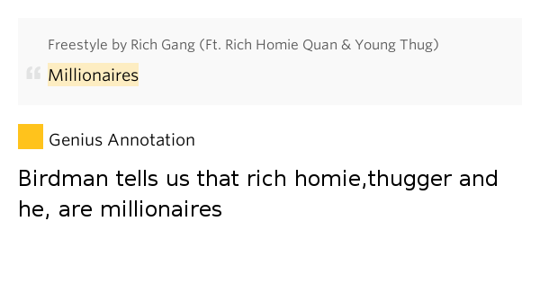 young thug and rich homie dating quotes