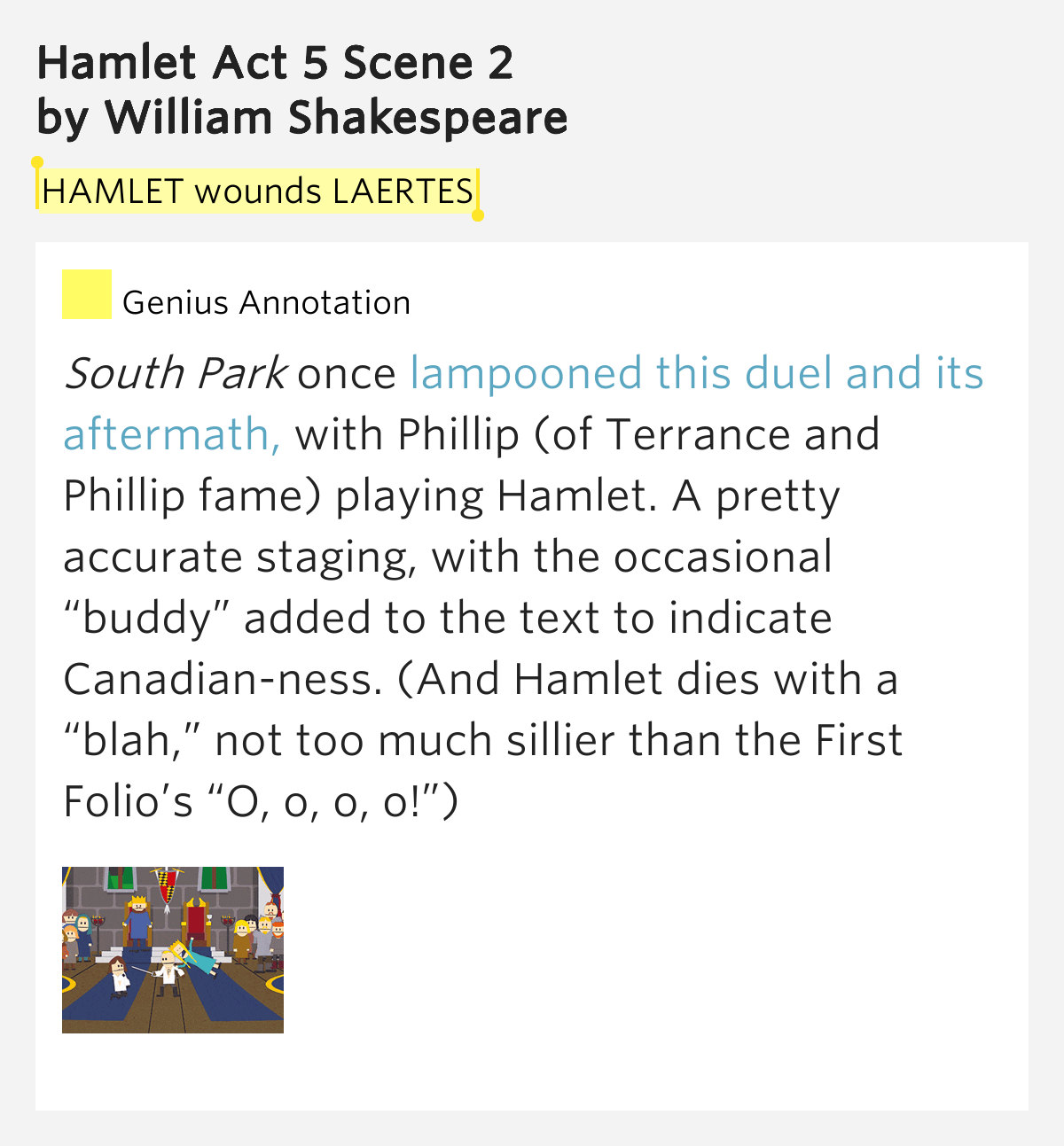 a comparison of william shakespeares hamlet and laertes Laertes / l eɪ ˈ ɜːr t iː z / is a character in william shakespeare's play hamlethis name is taken from the father of odysseus in homer's odysseylaertes is the son of polonius and the.