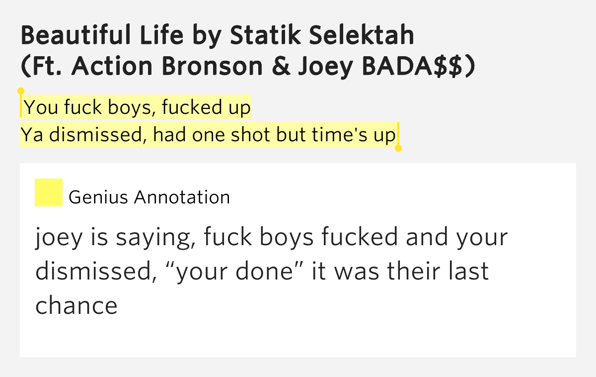 from Cristopher fuck your life lyrics