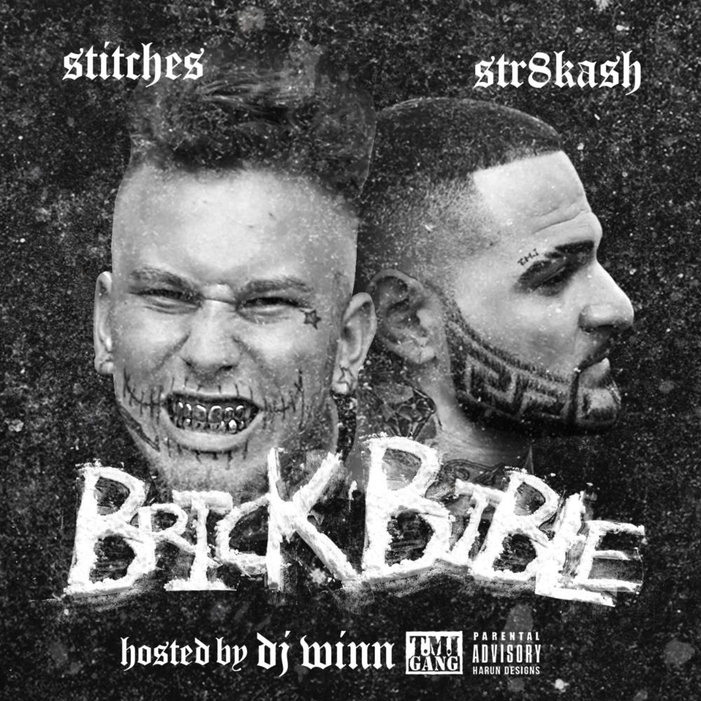 Stitches str8 kash brick bible tracklist album cover lyrics genius lyrics for Mixtape cd cover