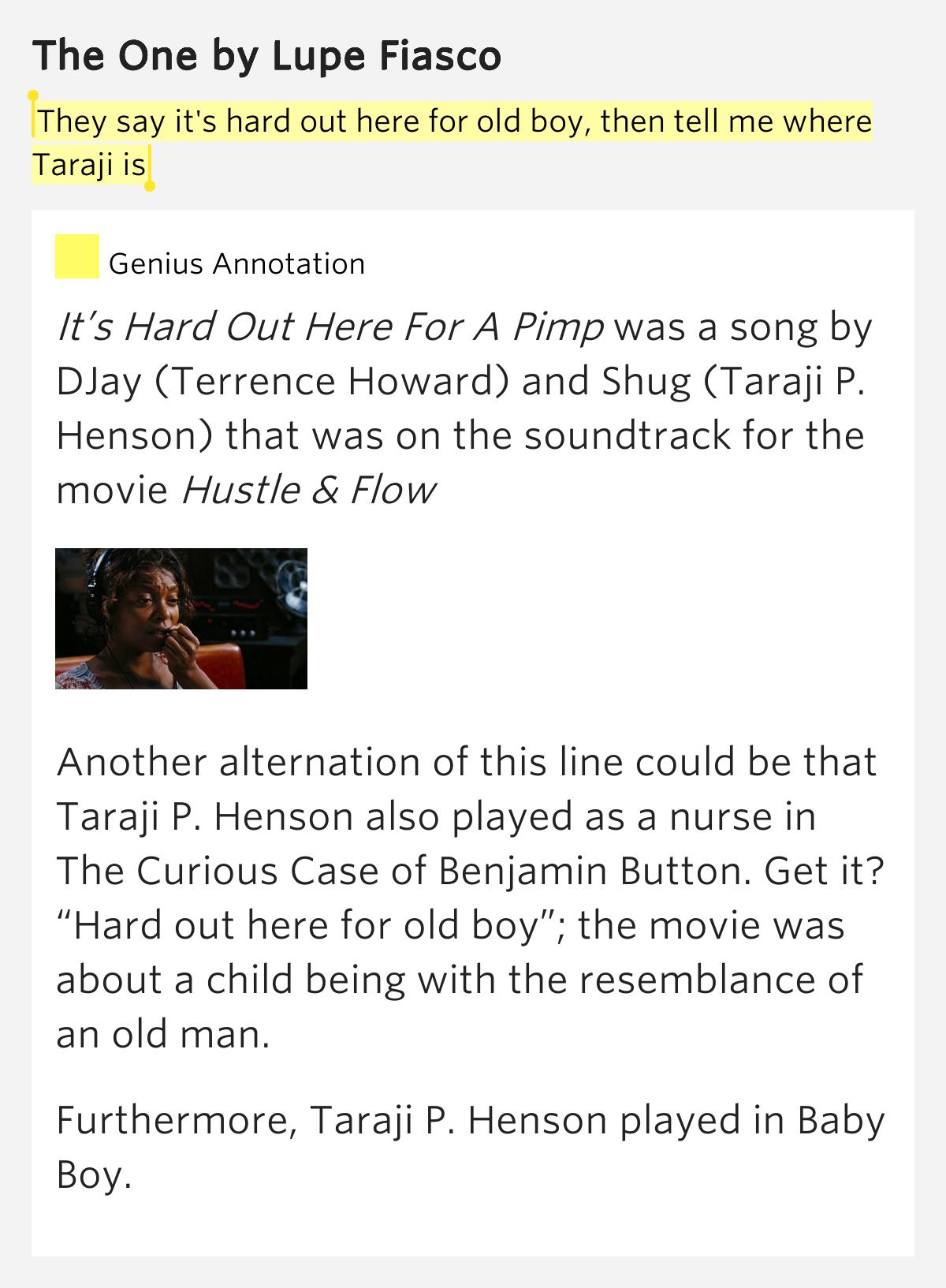 Djay - Its Hard Out For Pimp (Hustle and Flow Soundtrack ...