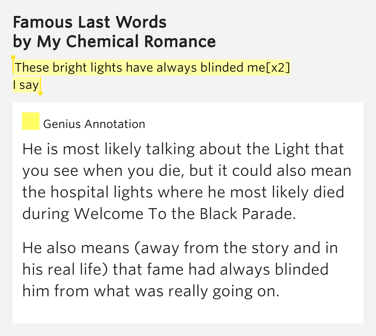 Meaning Of Blinded By The Light Lyrics Story Behind Song