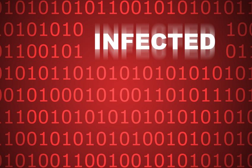 Virus Informatique Logo Qu'un Virus Informatique