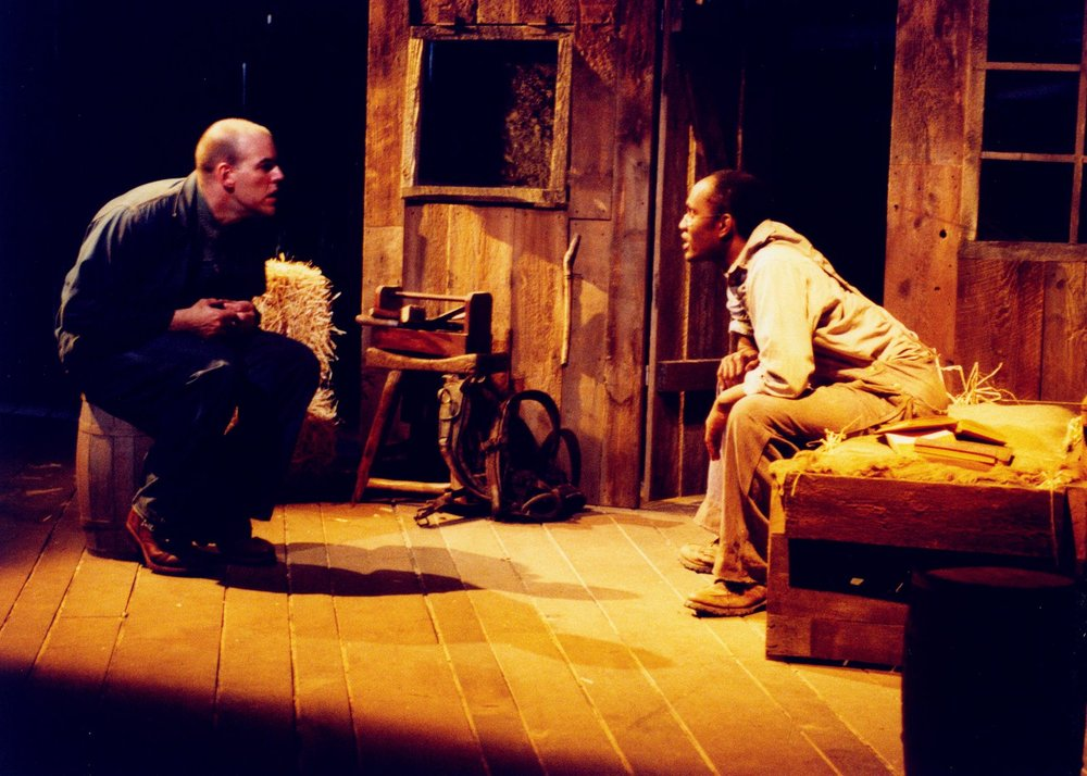 what life has in store for lennie crooks and george in of mice and men by john steinbeck In of mice and men, steinbeck idealizes comfort is furthered by the knowledge that george and lennie have claimed this lennie's life will be.