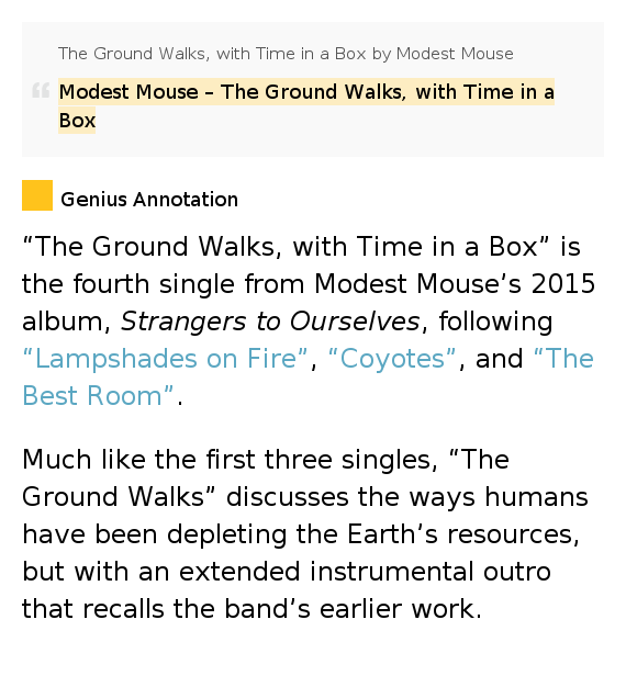Modest Mouse The Best Room Lyrics Meaning