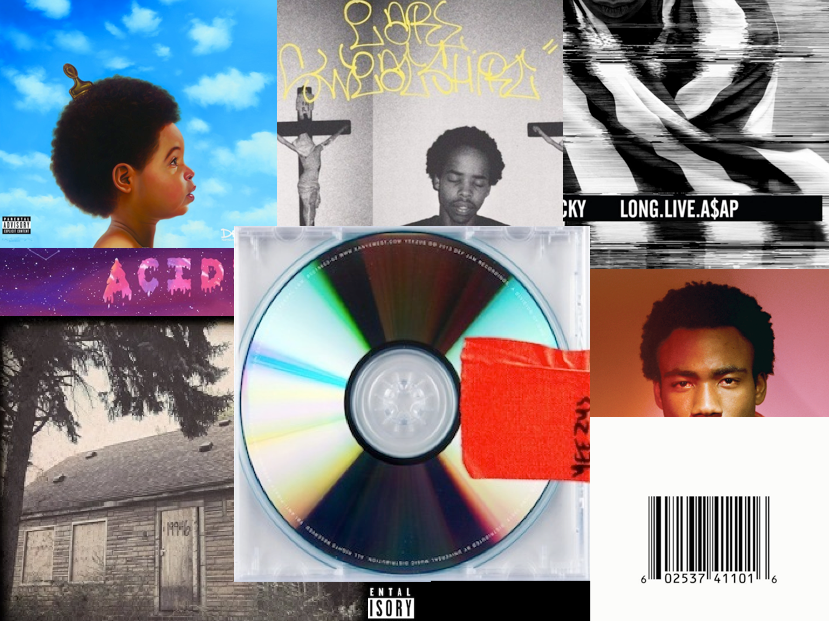 top 10 rap cds of 2013