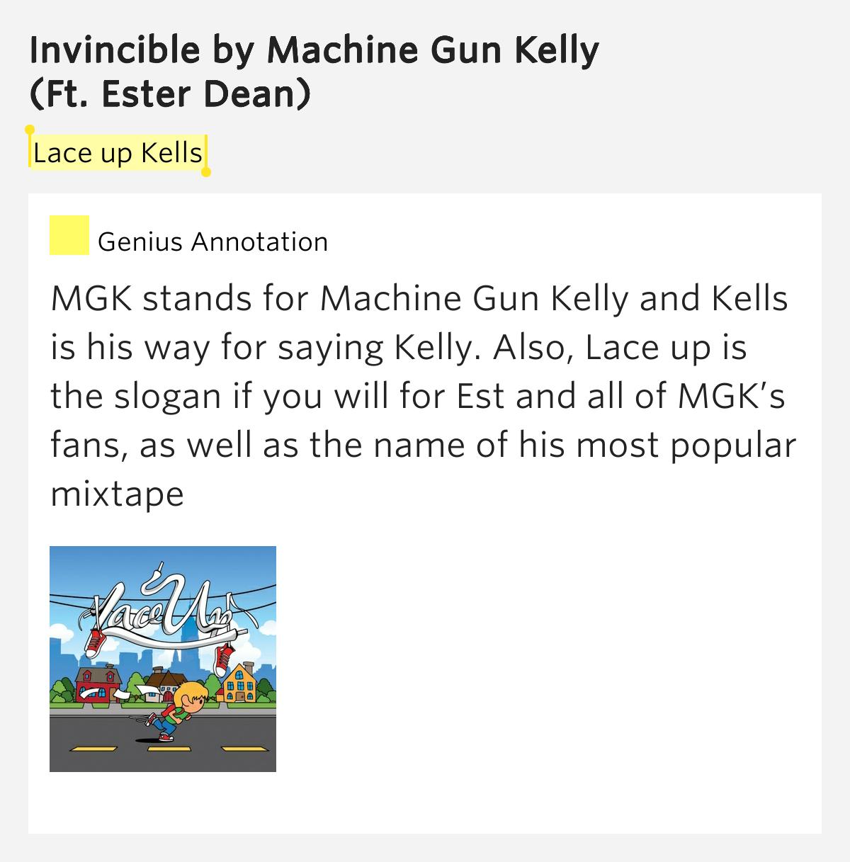 invincible by machine gun