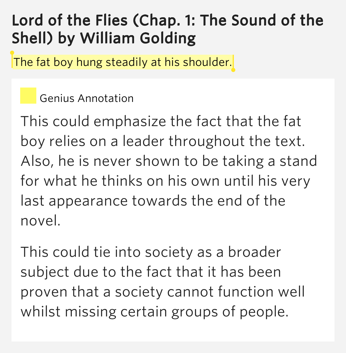 "the symbolism of boys in lord of the flies by william golding The tragic symbolism of william golding's ""lord of the flies  symbolism of william golding's ""lord of  boys to be trapped on an lord of the flies."