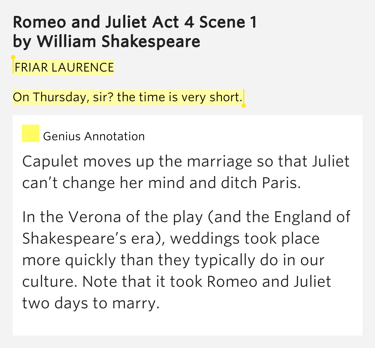 how does shakespeare show conflict in act 3 scene 1 of romeo and juliet William shakespeare uses many different techniques to show juliet's fears the scene starts with juliet telling the nurse and lady capulet to leave her alone romeo and juliet, act i-scene_3 romeo and juliet by shakespeare - analysis of juliet's soliloquy act 4 scene 3 (2004.
