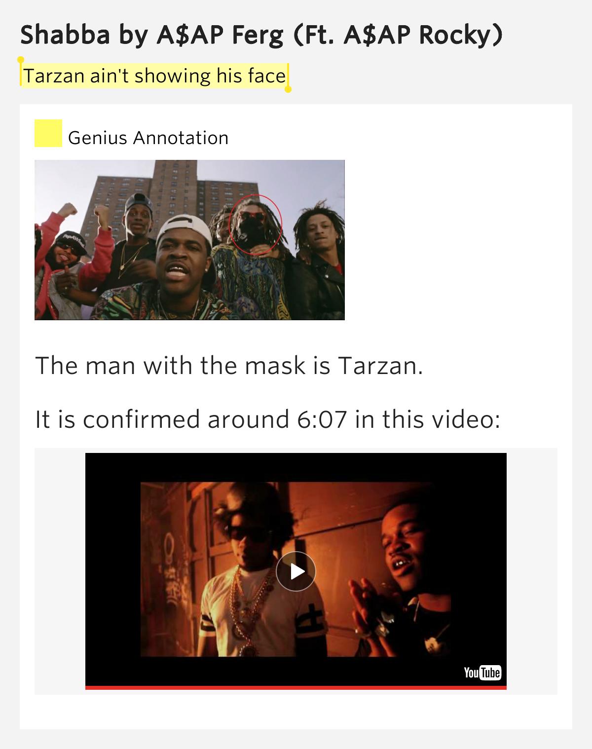 Asap Tarzan