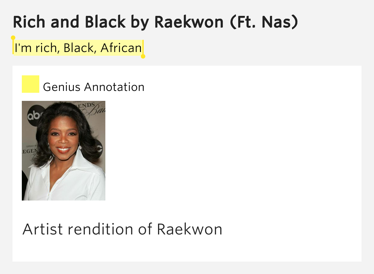 Raekwon - Rich And Black MP3 Download and Lyrics