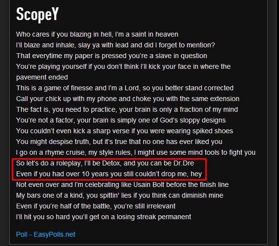 how to write a good rap