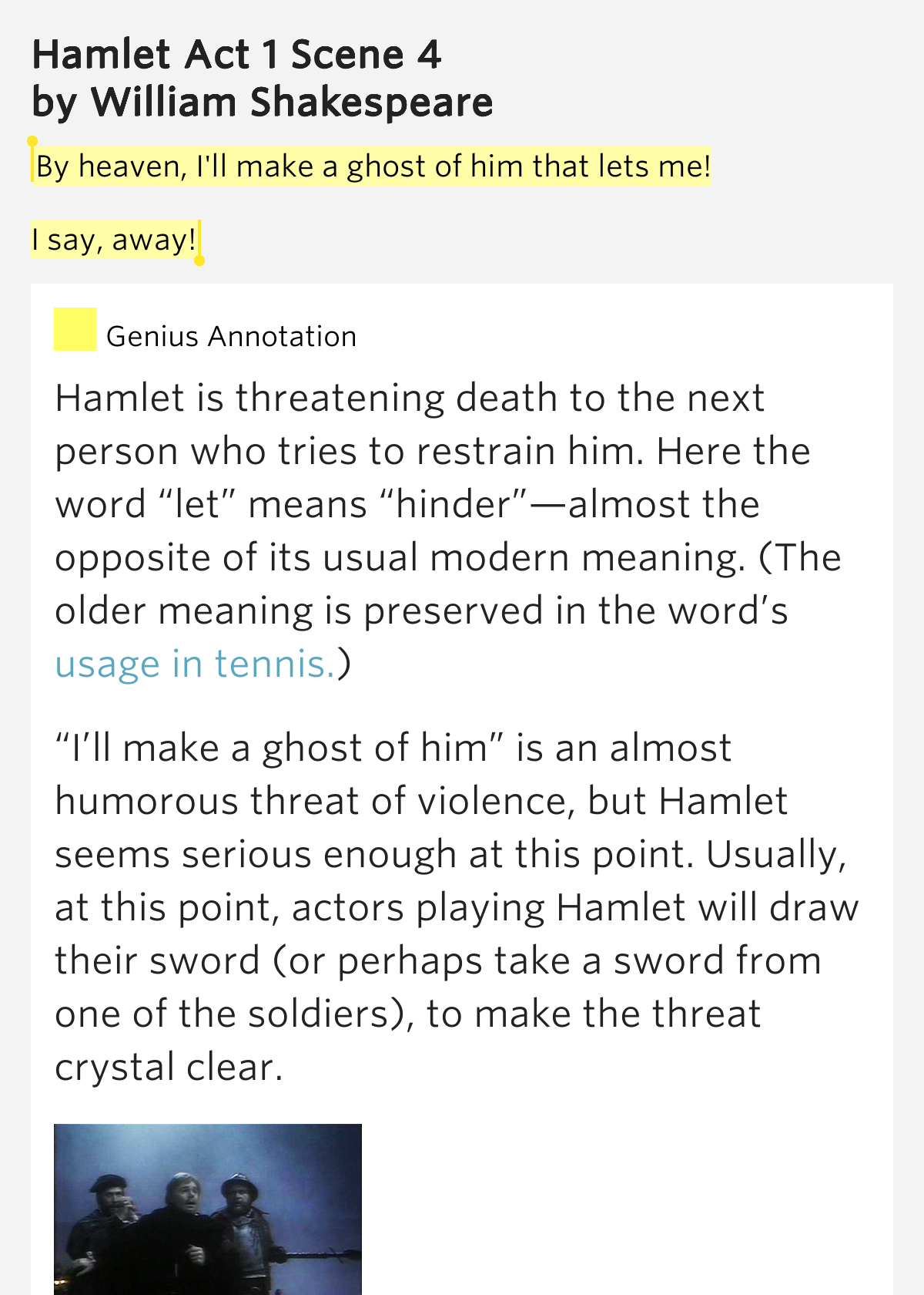 violence and death in hamlet by william shakespeare Possibly the first production of shakespeare's hamlet to be set in modern iran   that has been lost in a nation now ruled by intrigue, corruption, and violence   most jarring is what happens after the tragic death of hamlet's.