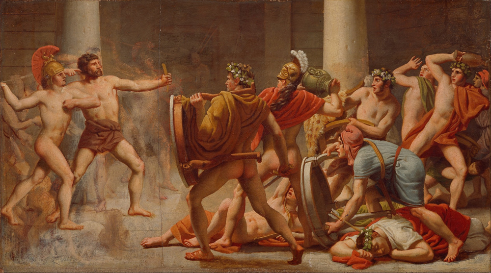 compare the relationship of odysseus and athena with that of job and god Aphrodite, the goddess of love, sits with the war god, ares in this painting by the   at her birth, athena, the goddess of wisdom, sprang directly from the head of.