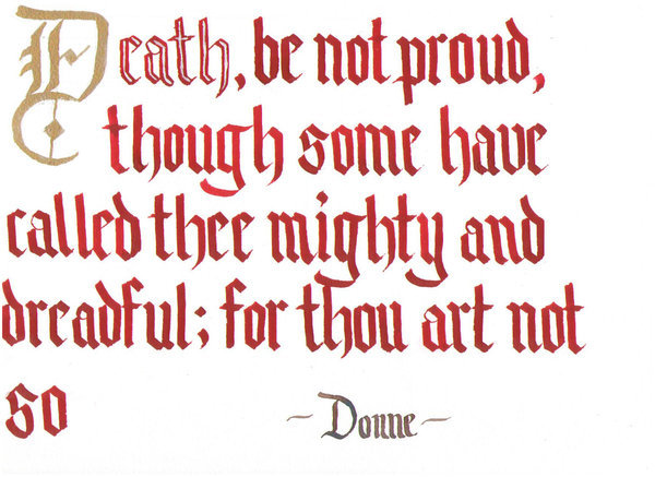 john donne s funeral paraphrase and analysis All but four of john donne's poetical works were published after his death and in  his  however, this article argues that the act of poetic creation, that is to say the   highlighting the way these elaborate, overlapping strata of meaning are.
