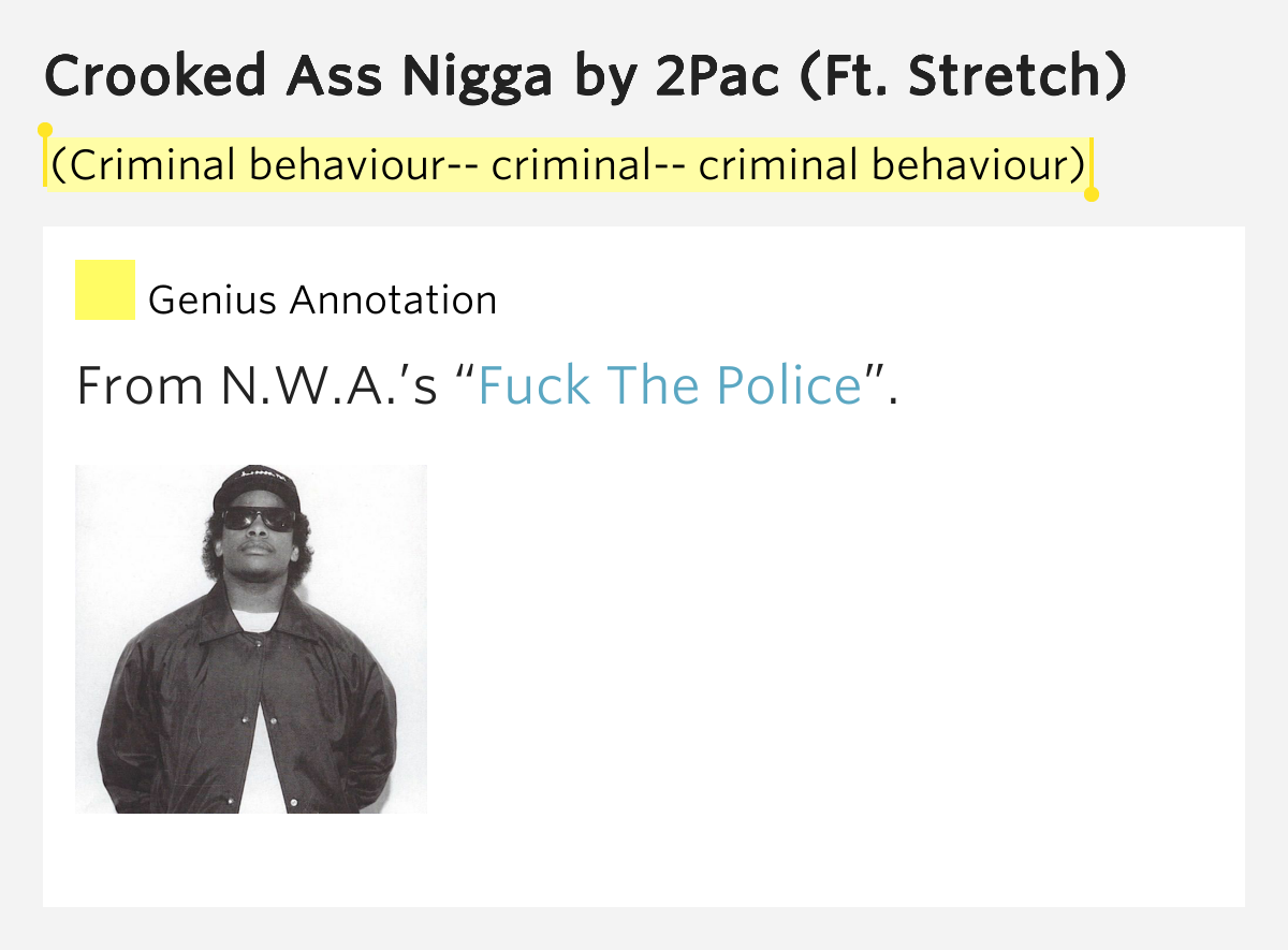 NWA - Fuck Tha Police Lyrics MetroLyrics