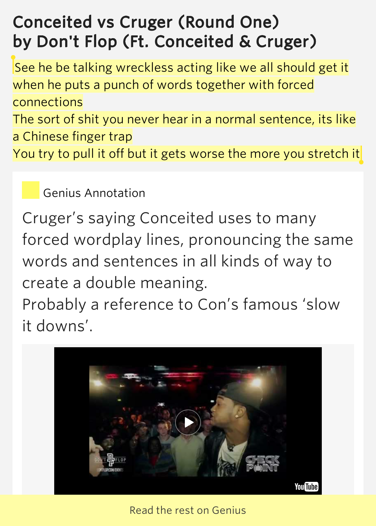 See he be talking wreckless acting like we all should get for Pull it off definition