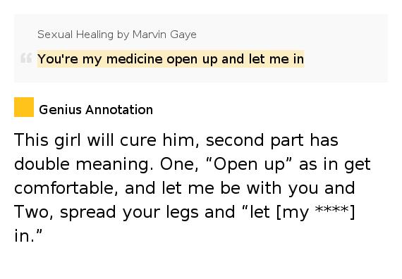 Marvin Gaye - Paroles de Sexual