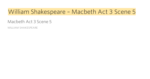 macbeth act 5 scene 3 Back at dunsinane, a doctor and a gentlewoman are spying on lady macbeth she's been acting weird lately sure enough, she enters the scene sleepwalking and talking to herself while the doctor and the gentlewoman look on, lady macbeth frantically tries to rub an invisible stain from her hand, all while ranting and.