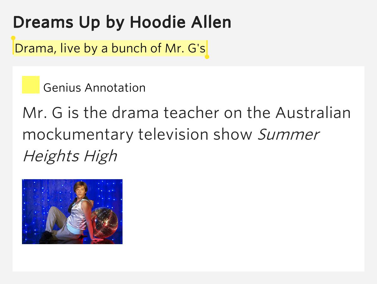 Hoodie allen dreams up