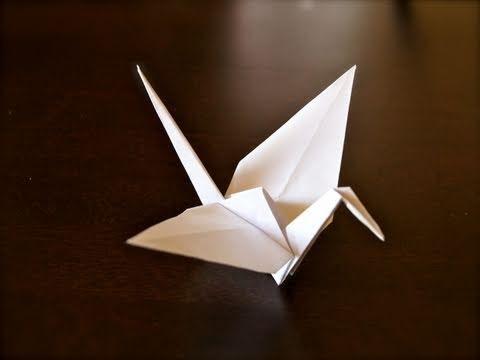 You can make a crane or plane dependin 39 how you fold for Make a crane