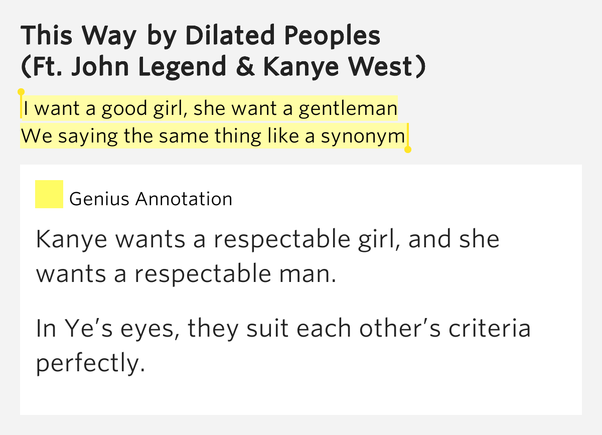 Dilated Peoples - This Way - Feat. Kanye West Lyrics