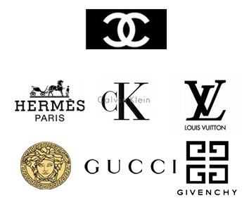 Clothing Designer Labels Logos fashion designer