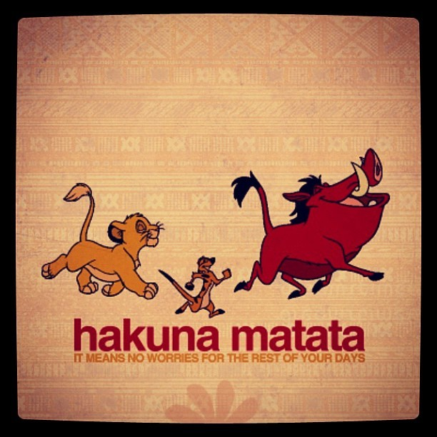Hakuna matata nem vs ignorant by nem ignorant - Signification hakuna matata ...