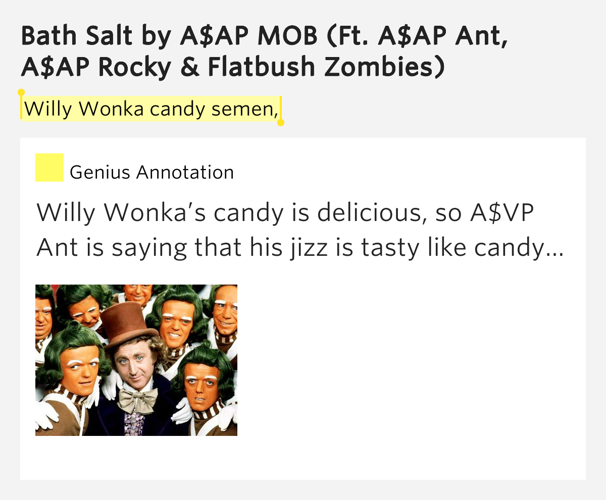 ASAP Mob (ASAP Rocky & ASAP Ant) - Bath Salt ft. Flatbush ...