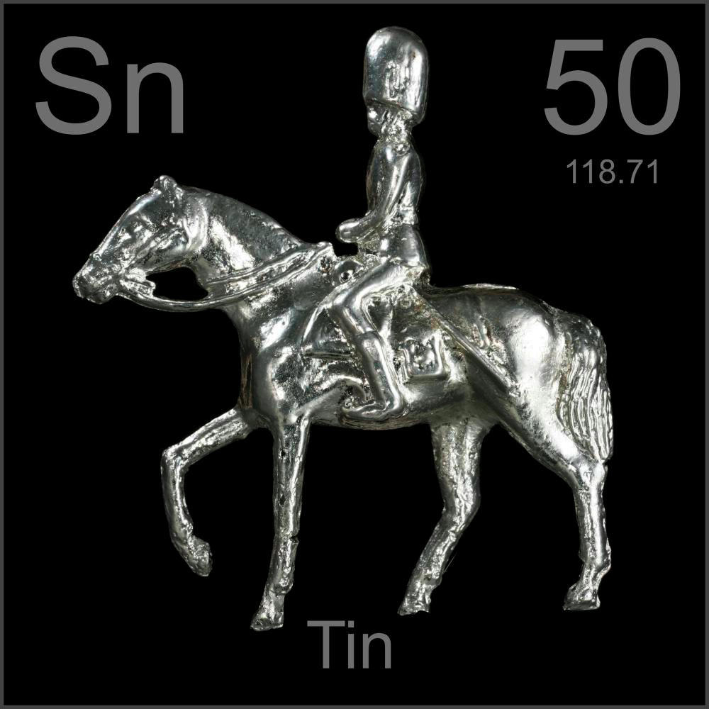 50 Tin Sn Periodic Table By Mister Molato