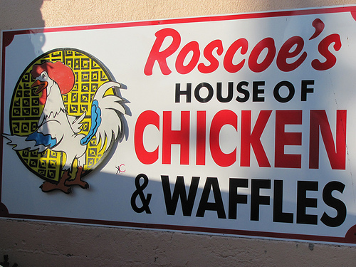 Females are cooking chicken like Roscoes house of chicken ...