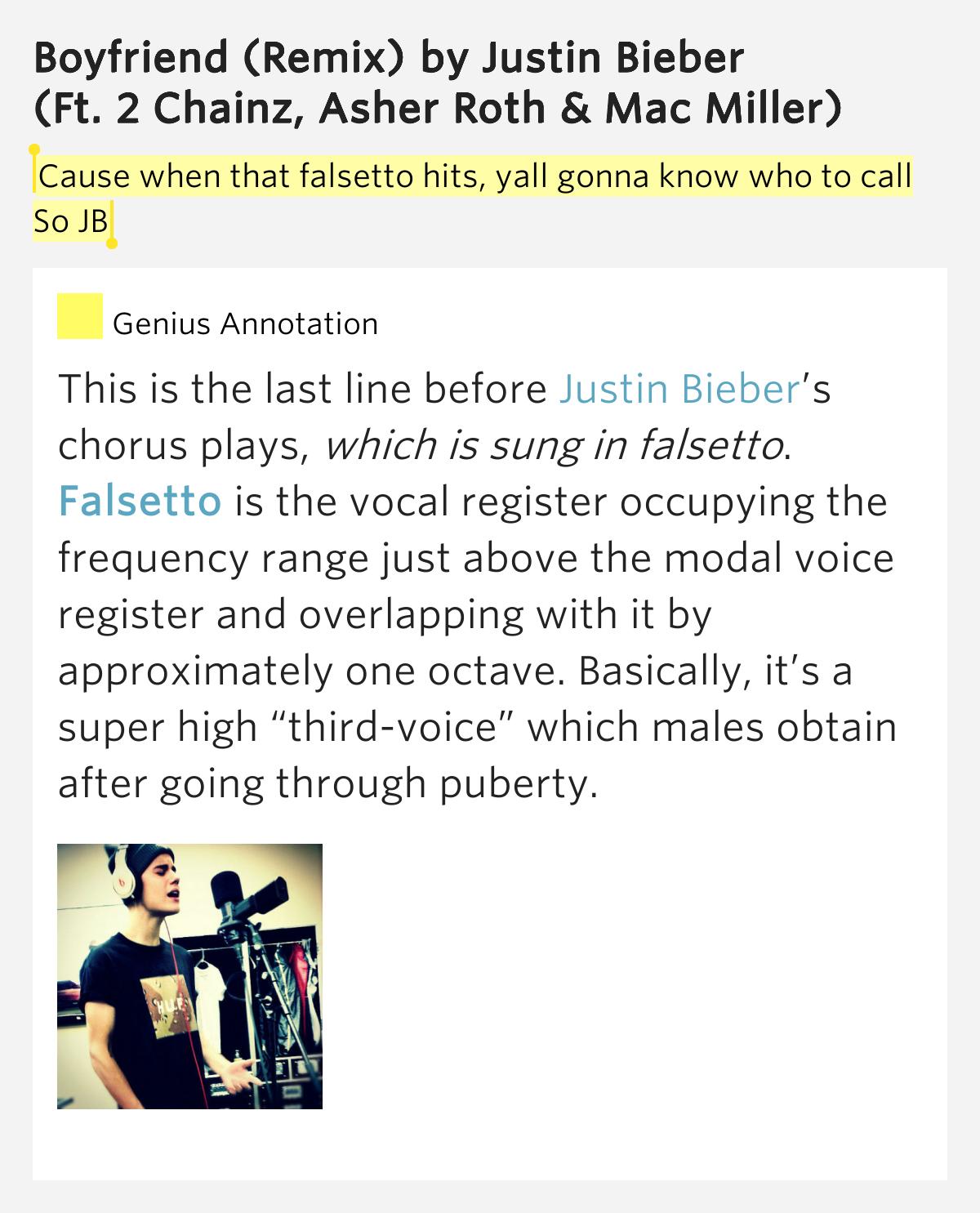 2 Chainz feat. Justin Bieber - Boyfriend (remix) Lyrics