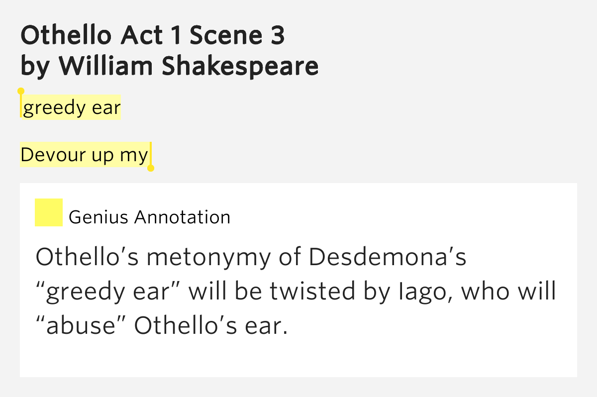 othello and related Othello first appeared in print almost twenty years after it was written, in quarto format in 1622 (q1) and then as part of first folio in 1623  related resources.