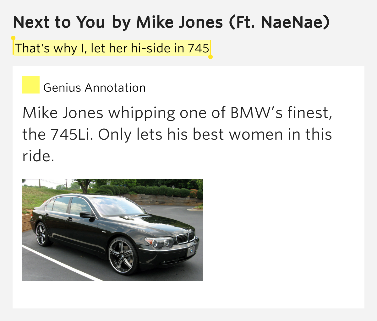 Who mike jones lyrics