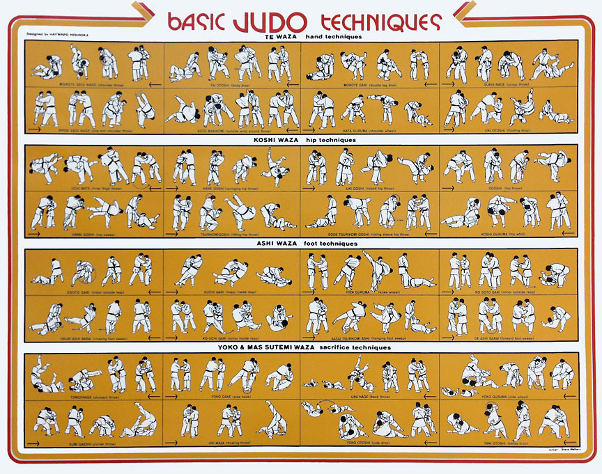 List of Kodokan judo techniques  Wikipedia
