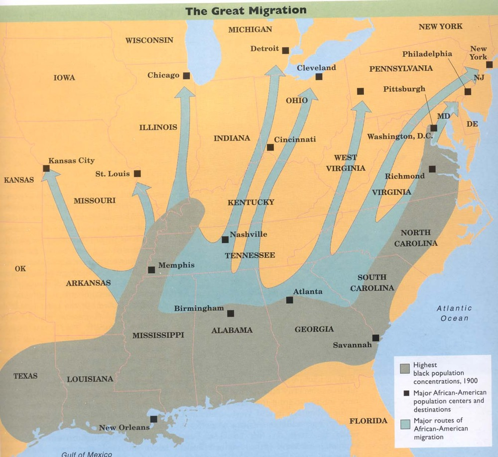 "the benefits of the great migration and reasons why african americans left the south to head to the  African-american history they were kicked out of the south and the title ""the great migration"" sugarcoats the what happen to alexander the great's body."