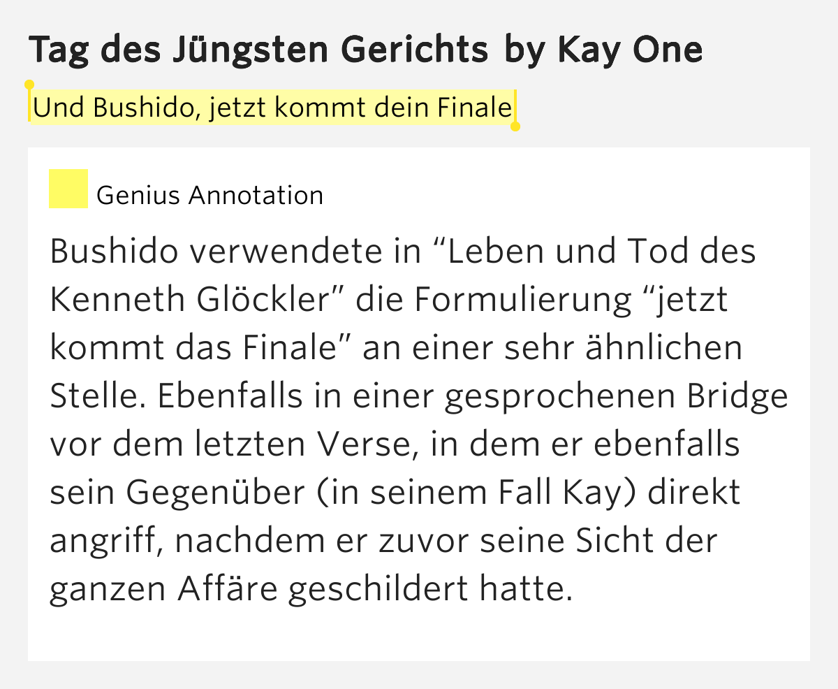 kay one songtext tag des juengsten gerichts .